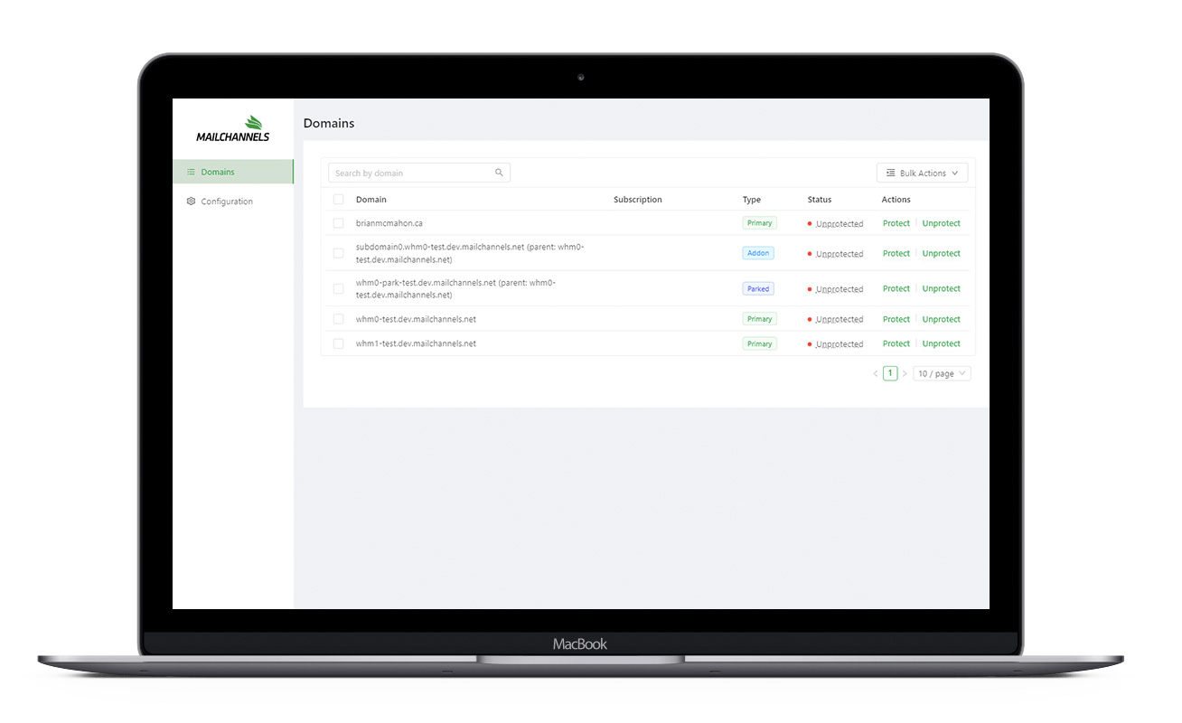 cpanel-integration-macbook-domains